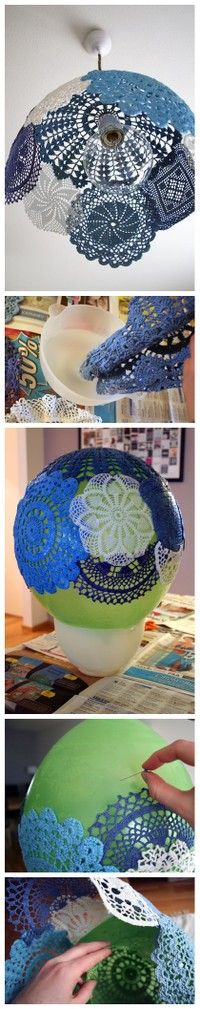 doily lamp! go to the website for more J-Crafty Goodness!