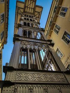 Santa Justa Elevator,Lisbon-25 Tips for Your First Trip to Lisbon, Portugal www.casualtravelist.com