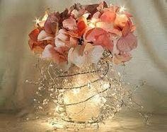 abstract flower arrangement