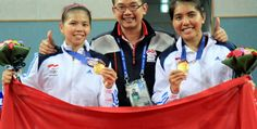 Greysia / Nitya ended the 36 years without the women's doubles gold at asian games 2014