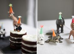 cute DIY party animals