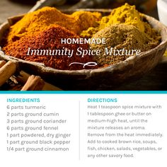 Did you know that there are seven everyday spices you likely have in your house right now that are the simplest, least expensive home remedy to keep you healthy all winter long? They can be your secret weapon and first defense when anyone around you gets sick or at the first sign of feeling under the weather yourself. We whip up a batch of our Homemade Immunity Spice mixture on the blog - recipe's there too! http://thewholejourney.com/homemade-immunity-spice-mixture-your-new-secret-weapon/