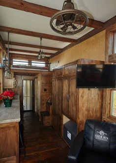 Tiny House with character and texture galore.  Many luxury finishes and an efficient / beautiful design.