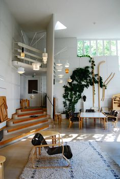 Alvar Aalto's studio in Helsinki | Cate St Hill