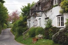 The Brace of Pheasants pub in Plush, Dorset Peaceful Places, Old English, Great Britain, Plush, Public, England, Houses, Cabin, House Styles