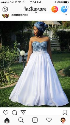 African Bridal Dress, African Print Wedding Dress, Best African Dresses, African Wedding Attire, Lace Mermaid Wedding Dress, African Fashion Dresses, Seshweshwe Dresses, South African Traditional Dresses, Traditional Wedding Attire