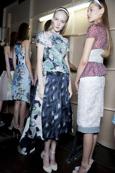 Check Michael Van Der Ham's SS13 backstage snaps as seen in the Topshop Showspace. #TOPSHOP #LFW #SS13 #MICHAELVANDERHAM