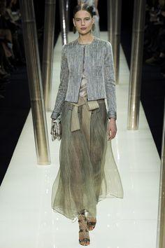 Armani Privé Spring 2015 Couture Runway - Vogue