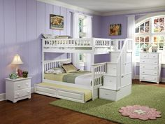 Stairway Bunk Beds Twin Over Full