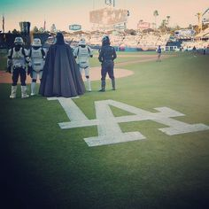 THINK BLUE: It's time for Dodger Baseball!  Photography by @mark_edwards_photographer #disney #lucasfilm #starwars #dodgers #dodgerstadium #darthvader #baseball #mlb #mlbnetwork #ball #losangeles #LA #doyers #darklord #stormtrooper #bikerscout #playball #sith #sithlord #sports #picoftheday #501st #cosplay #cosplayer #501stlegion #official501st by coryvader