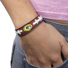Green Bay Packers Brown Football Bracelet - $9.99