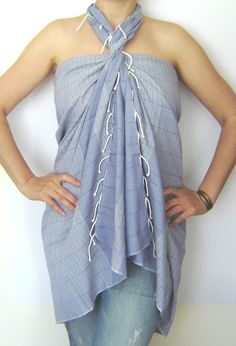 Ultrathin  Sarong on the boat
