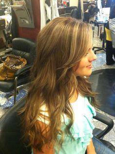 Perfect warm Brown hair