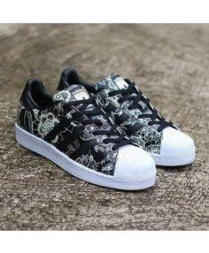 Chaussures de mode bon marché adidas Superstar Tricolor
