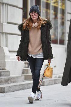 парка+джинсы+кроссовки+!красивая яркая/аккуратная сумка!