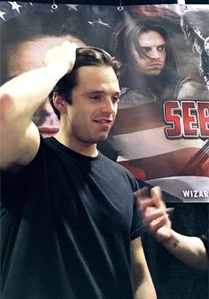 Sebastian Stan, are you trying to kill us?