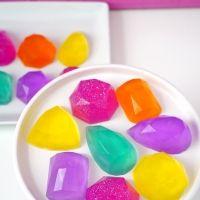 10-Minute DIY Gemstone Soaps