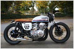 '76 Honda CB750 - Sur les Chapeaux de Roues - Pipeburn - Purveyors of Classic Motorcycles, Cafe Racers & Custom motorbikes