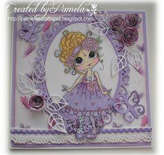 Pamela's card - Sherri Baldy Image Card