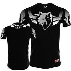 New TUFF Muay Thai Shirts King Dragon White Tee Shirt S M L XL XXL