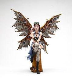 Steampunk-Fairy-Collection-Naomi-Air-Balloon-Voyager-Statue-11-H-Figurine