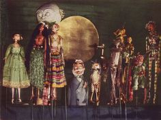 From the collection of Viennese Puppet Master Richard Teschner