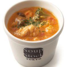 チキンのトマトクリームスープ+by+Chopper532さん+|+レシピブログ+-+料理ブログのレシピ満載! Soup+Stock+Tokyo+の【野菜とトマトのトマトシチュー】をアレンジしたレシピ。