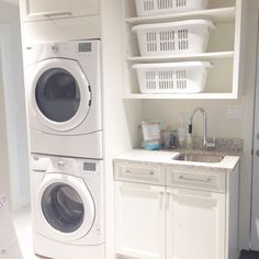 simple laundry layout for small space