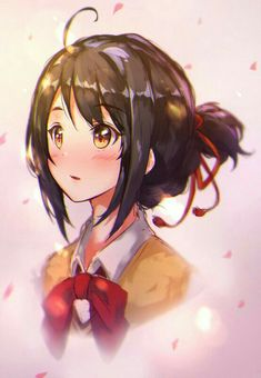 pixiv is an illustration community service where you can post and enjoy creative work. A large variety of work is uploaded, and user-organized contests are frequently held as well. Wallpaper W, Kimi No Na Wa Wallpaper, Your Name Movie, Your Name Anime, Kawaii Anime Girl, Anime Art Girl, Otaku Anime, Manga Anime, Studio Ghibli Films