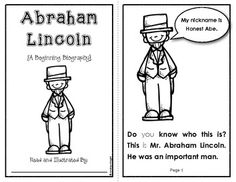 Beginning Biographies:  This set of student books includes simple biographies featuring 10 important people from America's history (Lincoln, Parks, Armstrong, Franklin, Keller, and more.)  Practice sight words, vocabulary, note-taking, and higher level thinking with these texts.  124 pages, $