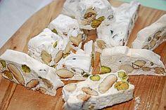 Weißer Nougat (Rezept mit Bild) von Lyskilde | Chefkoch.de