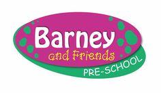 LOGO DESIGN >> Barney & Friends Pre-School (White River) Created by Design so Fine