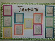 Texture bulletin board paper bags