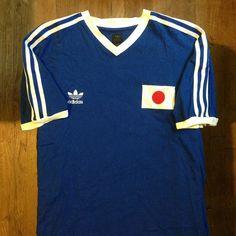 日本サッカージャージ 1986 // 日本サッカージャージ 1986 // #soccer #football #jersey #maillot #trikot #maglia #kit #home #japan #nippon #fifa #adidas #サッカー #ジャージ #スポーツ #日本 #アディダス #1986