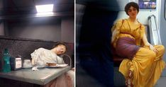 Classical Paintings Reimagined as Part of Modern-Day Italian Life by Alexey Kondakov