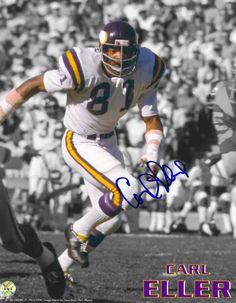 Carl Eller Minnesota Vikings Autographed