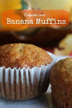 banana muffins eatpicks