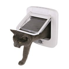 Trixie cat Products 4 Way Plastic Cat Door with Rotary Lock *** Find out more details by clicking the image (This is an amazon affiliate link. I may earn commission from it)