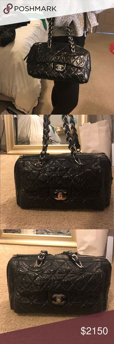 2fe7f5ddb39db6 Chanel Aged Calfskin Leather Shoulder Bag CHRISTMAS SALE 🎄 Authentic -  Poshmark will authenticate for free as well Great Condition Hardware is  almost like ...