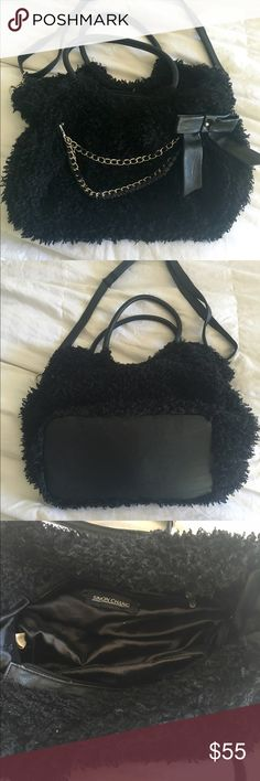 Simon Chang shaggy purse From Canadian designer Simon Chang. This is such a cool, cute purse. Looks and feels like a poodle! Simon Chang Bags Shoulder Bags