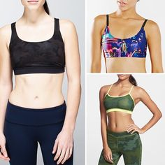 Rank & Style | Top Ten Fashion and Beauty Lists - Printed Sports Bras #rankandstyle #bras #gym #gymlife
