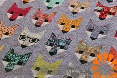 Piece N Quilt: Fancy Fox Quilt