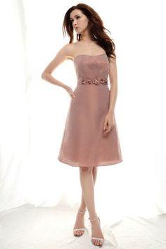Elegant Pink Sweetheart Neckline Graduation Dress
