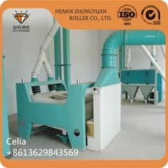 Maize Flour Milling Machine for Zambia Tanzania Malawi Kenya Market Touch screen