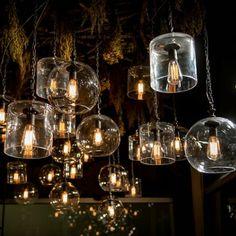 Mason Globe Pendant - bar or kitchen island lighting