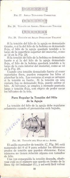 Manual de usuario: Máquina de coser Singer 15-88 y 15-89 de 1940