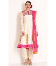 Biba By Rohit Bal Churidaar Kurta Dupatta, http://www.snapdeal.com/product/biba-by-rohit-bal-churidaar/620127395349
