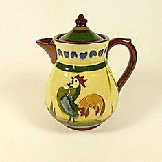 Torquay Ware Tormohun Pottery Teapot.