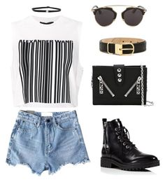 """""""Untitled #192"""" by gr20gk on Polyvore featuring Burberry, Chicnova Fashion, Kendall + Kylie, Alexander Wang, Shay, Kenzo and Christian Dior"""