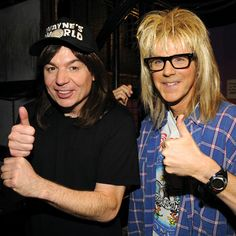 Wayne Campbell & Garth Algar